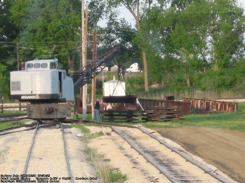 The old 11-1 track was stacked in neat piles at the East end of the yard to be reinstalled as the new 11-4 later on