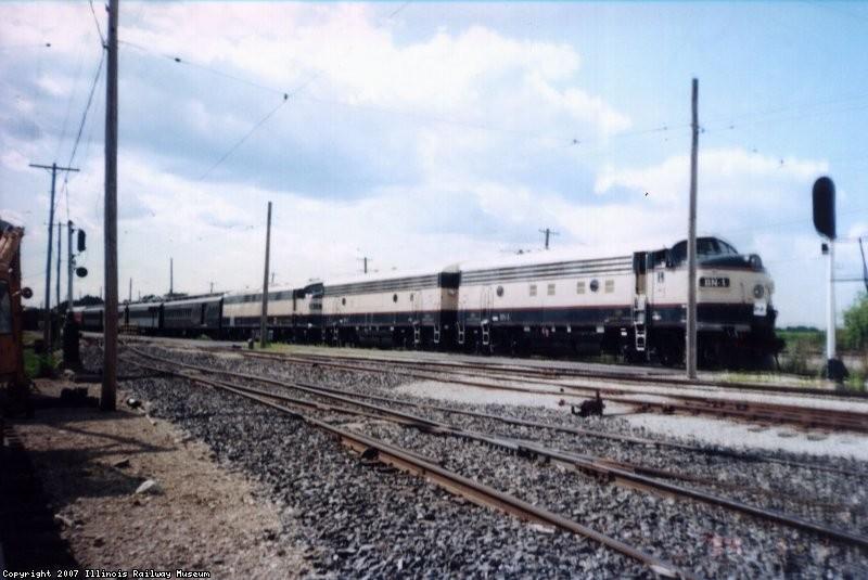 BN 1,2,3 w/Coach Train  07-00