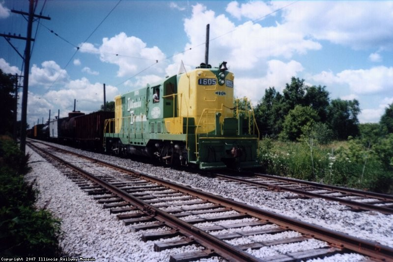 IT 1605 w/Freight Train  07-00