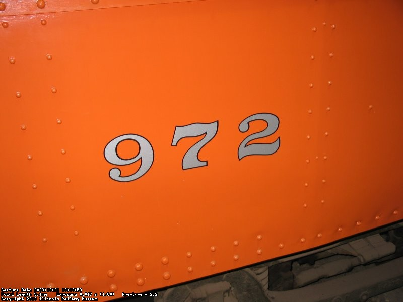 New vinyl numbers made and applied by Buzz Morisette.