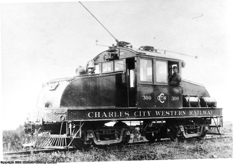 Built by McGuire-Cummings & delivered to Charles City Western Railway in 1915 - Ernest Haller Collection