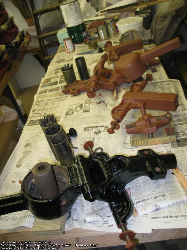 Trolley bases and components restoration