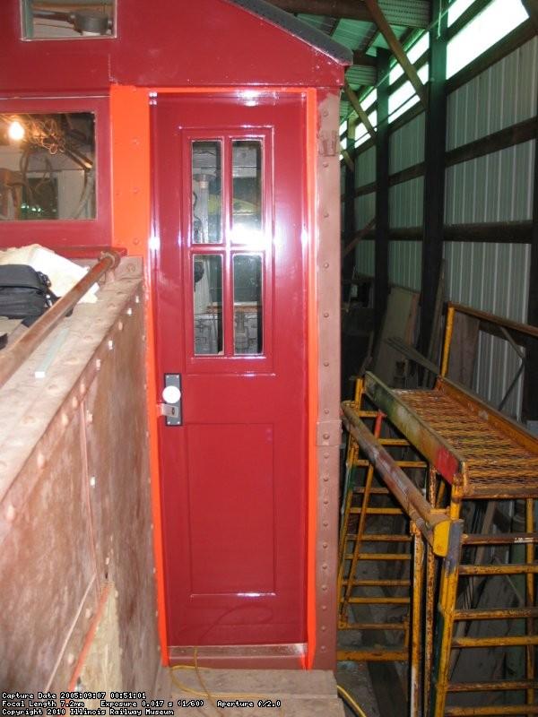 New rear door installed