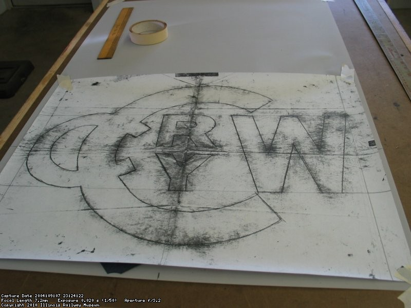 New CCW logo stencil made