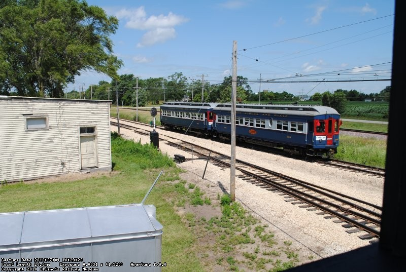 Another CA&E local rolls west out of Wheaton on the Batavia Branch