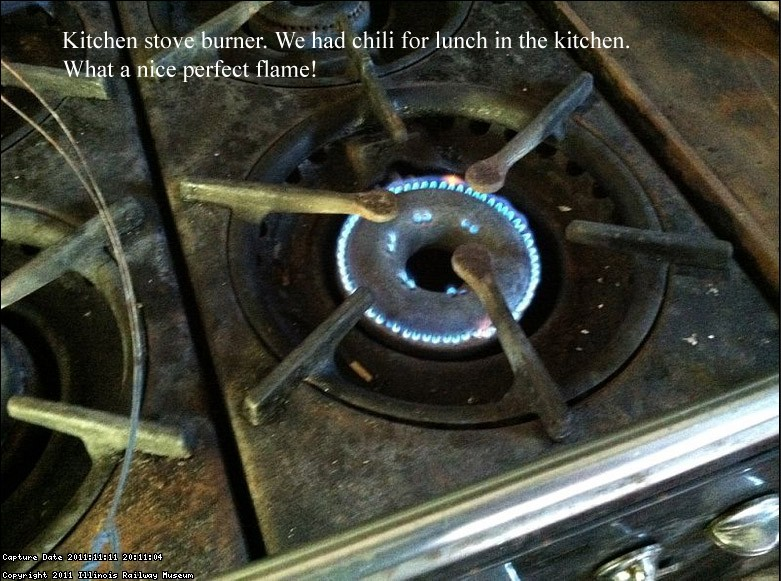 Kitchen stove for chili cooking