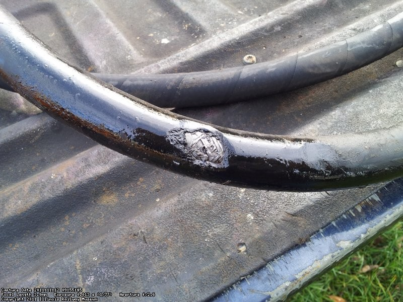 Main hose failure.