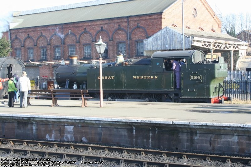 Severn Valley Railway GWR 5164