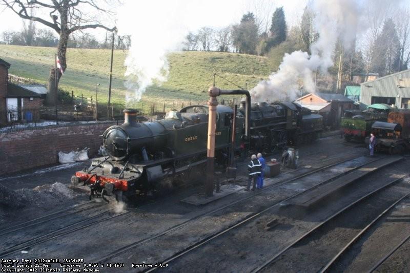 Severn Valley Railway Shunting