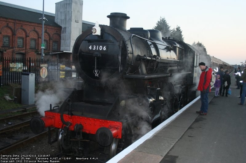 Severn Valley Railway Mogul 43106