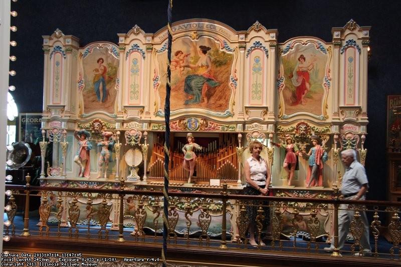 A mid size Gavioli organ