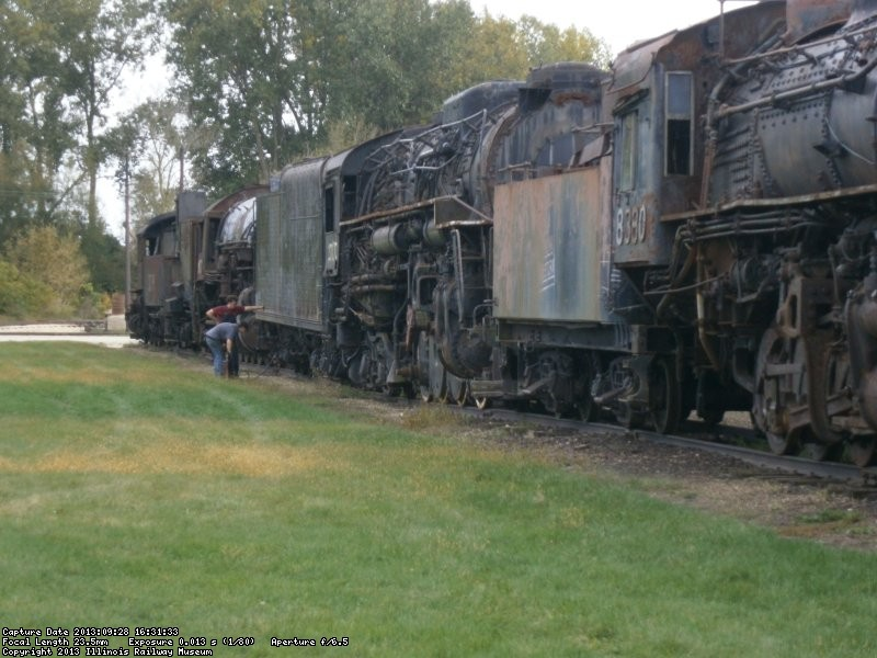Locomotives to be moved