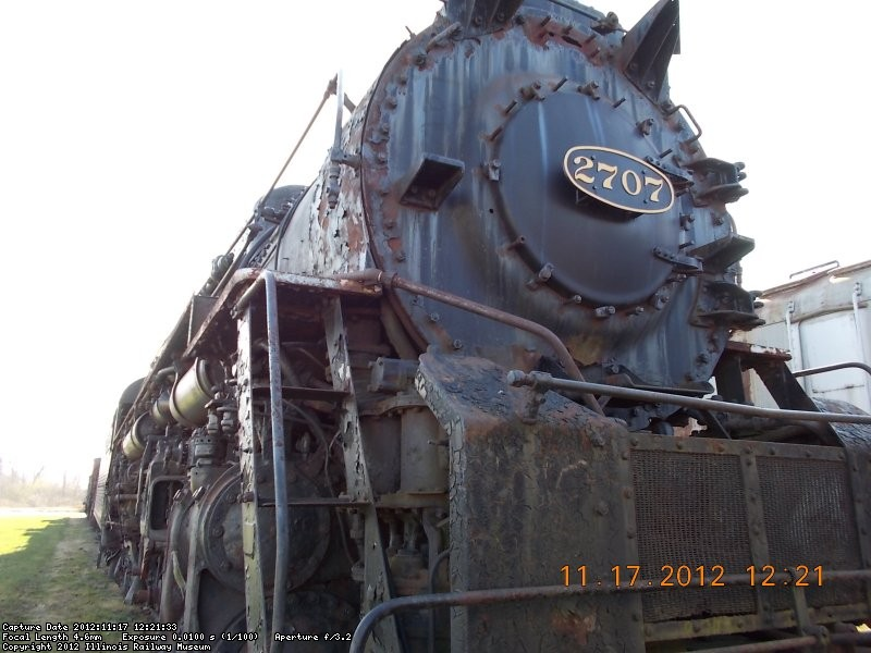 C&O Berkshire 2-8-4  I saw this engine on the move in Ohio.   11-21-12