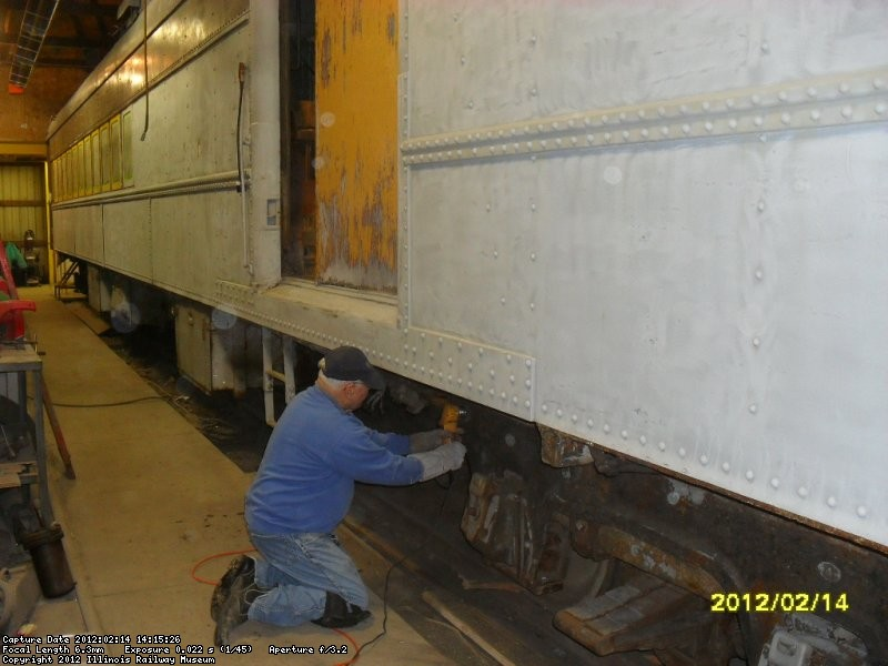 Even the trucks are needlechipped  We need paint  Feb 2012