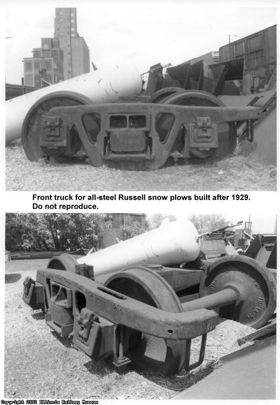 Russell front truck - modern
