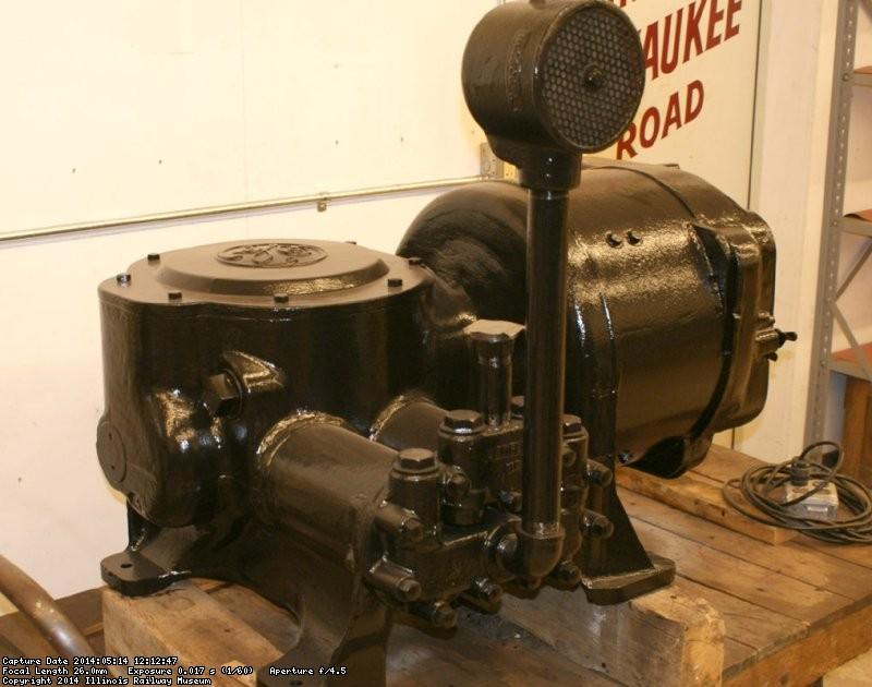 Rebuilt 600 volt compressor