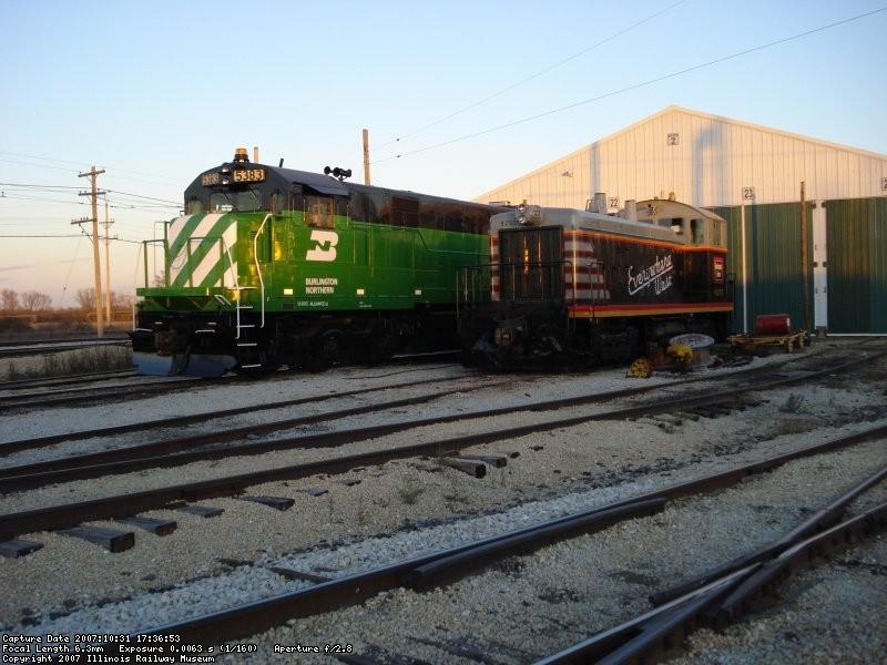BN 5383 & CBQ 9255