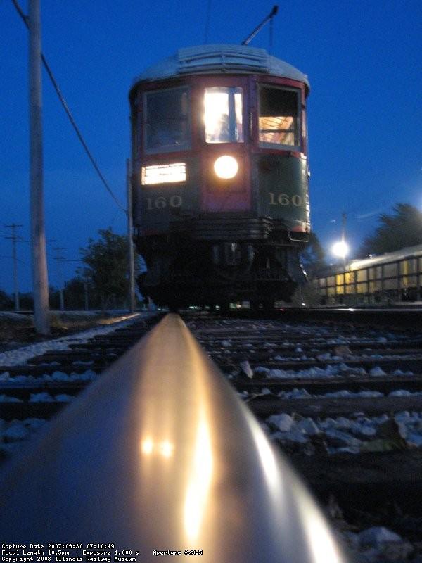 rail height