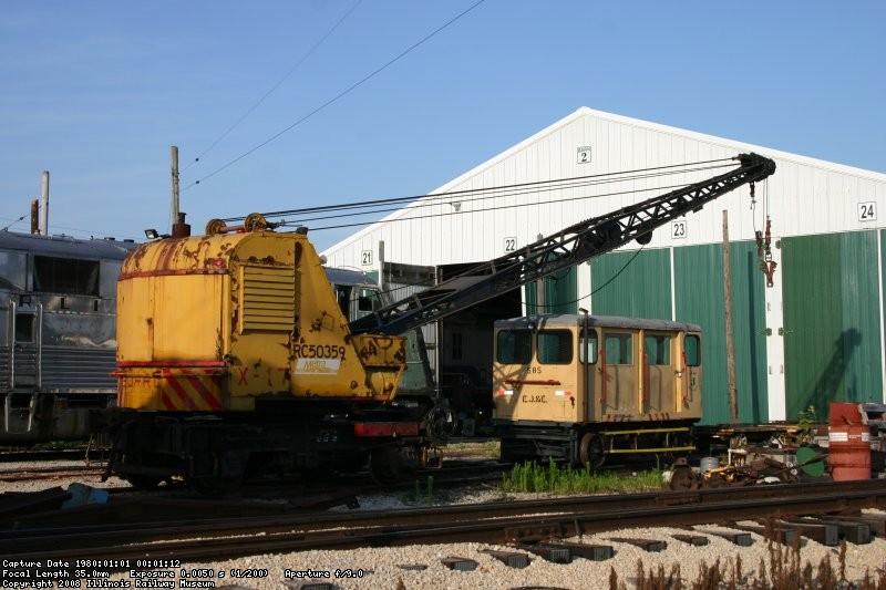 Tk24 DM&IR X-17 meets EJ&E 585