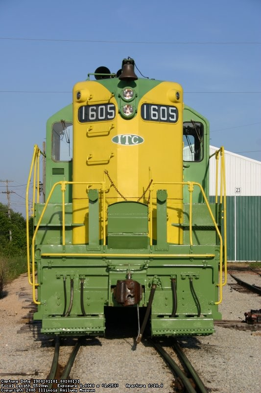 IT 1605 gets ready for diesel days