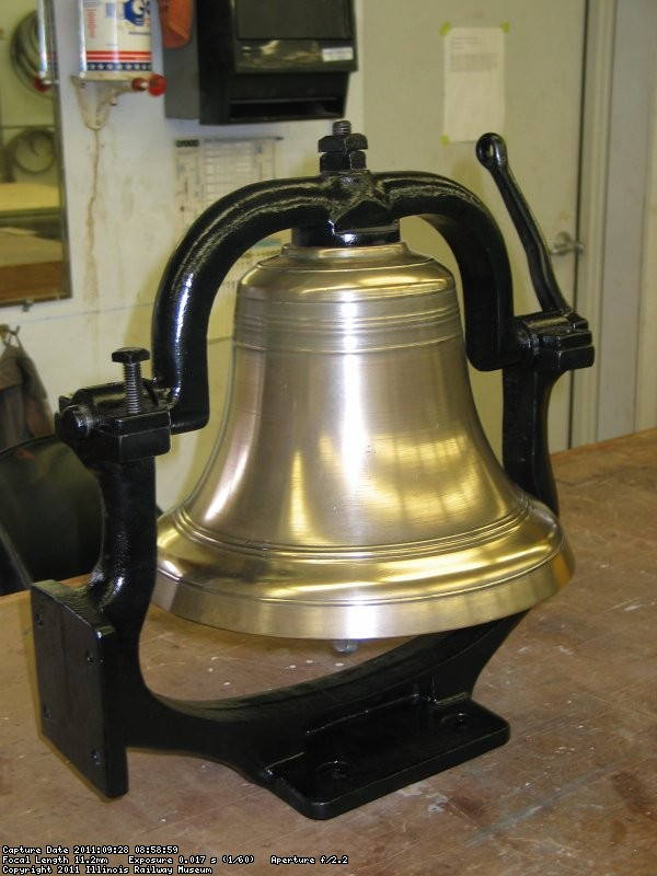 CCW Bell refurbished