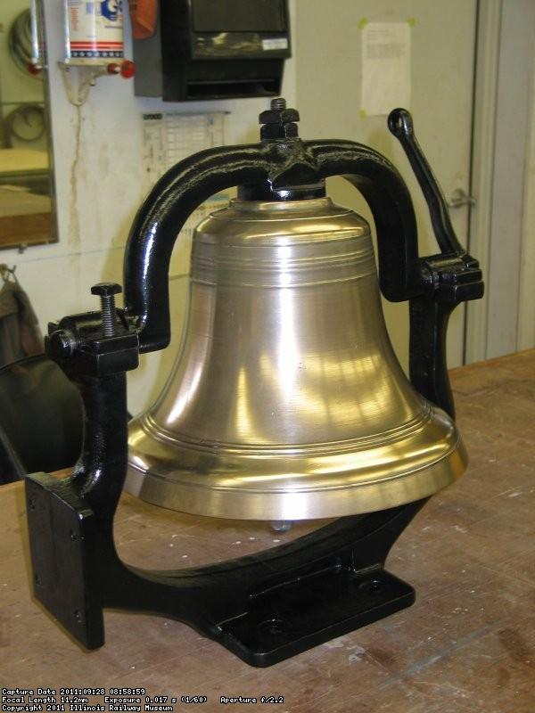 CCW Bell refurbished