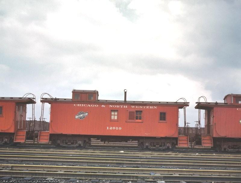 CNW caboose 12010 by Jack Delano
