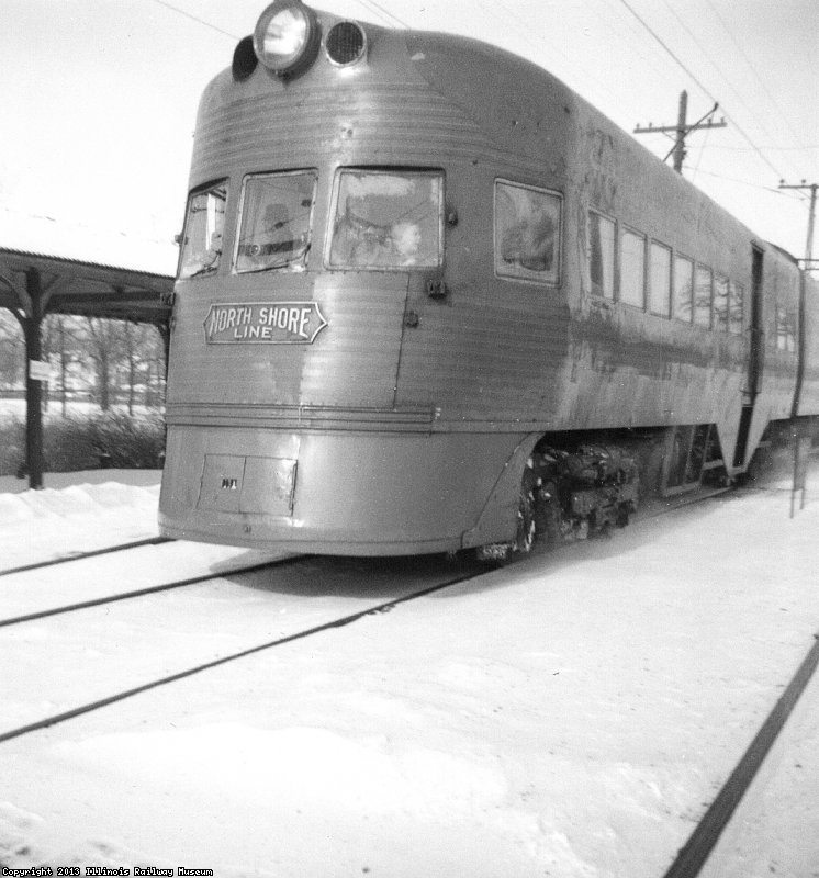 electroliner at Zion 1962-2B W