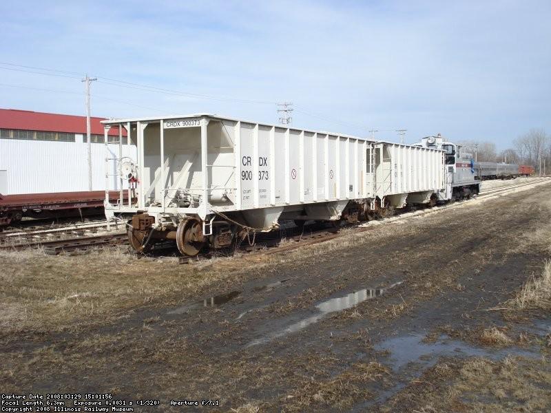 Ballast Train in yard 11 03-29-08