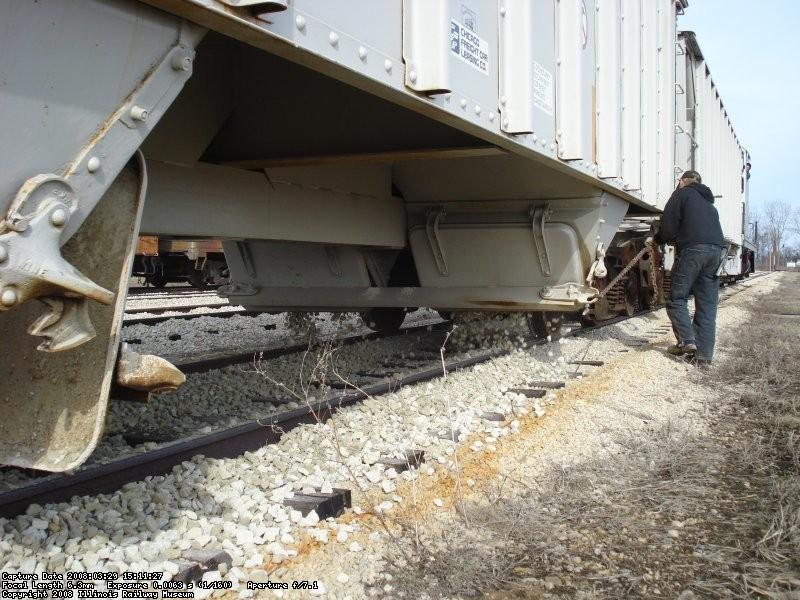 Ballast dump yard 11 03-29-08