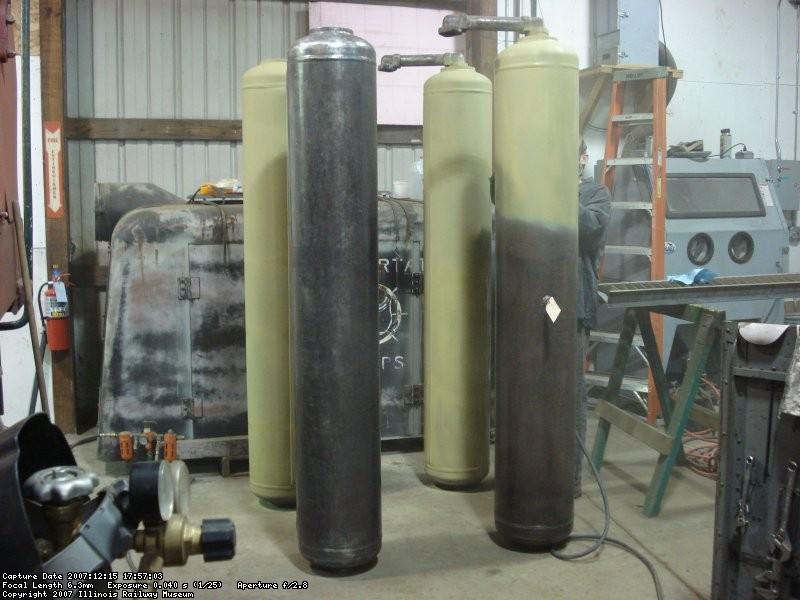 Priming main reservoir tanks