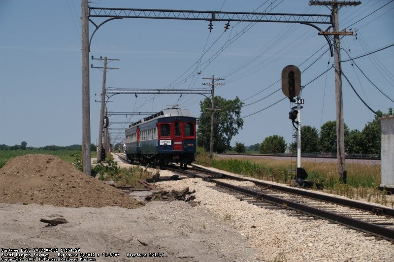 "308/309 approaching Seeman Road (""Forest Park"")"