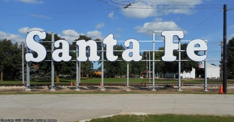 Santa Fe sign - 2016
