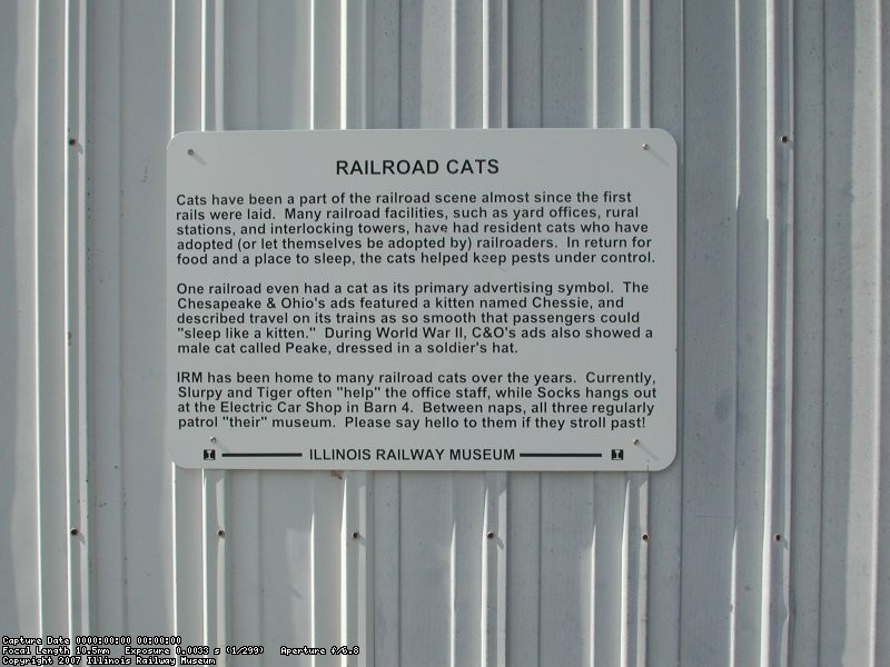 Rail Cats Sign (finally honored for their work)