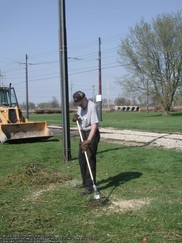 Spring cleanup 2004