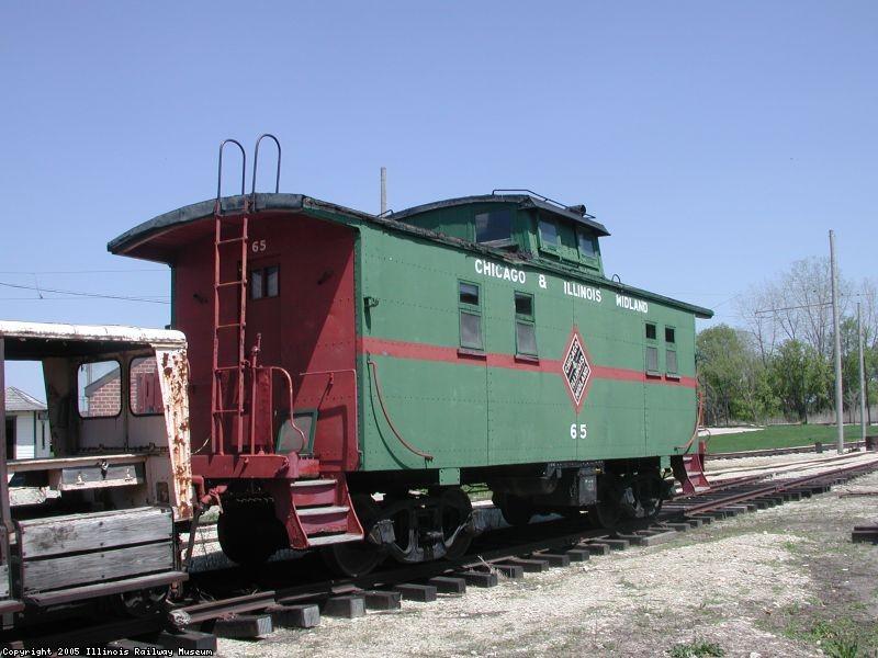 C&IM 65 caboose