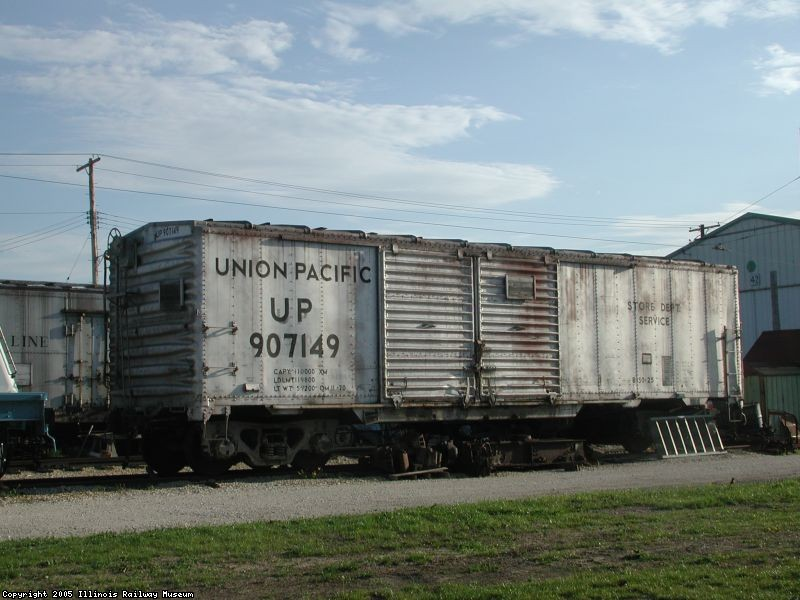 UP 907149 Box Car 2005-05-11
