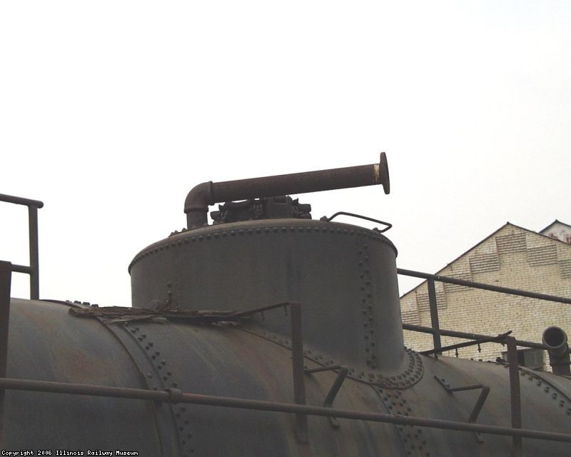 10.03.03 - THE CAR IS AT LAWRENCEVILLE, ILLINOIS. NOTE THE ADDED PIPES AND THE SAFETY RAILING THAT HAVE BEEN APPLIED.