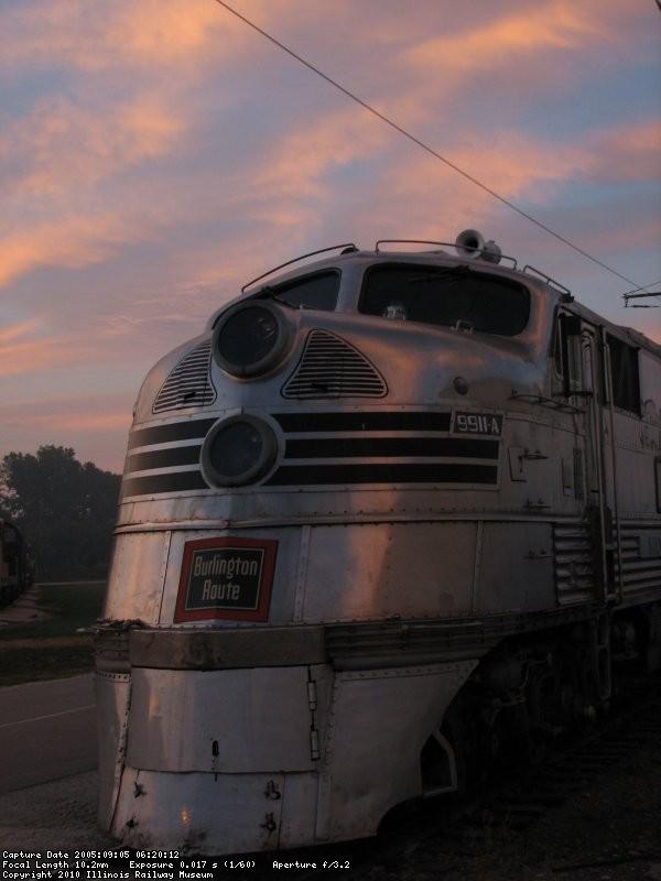 9911A at dawn