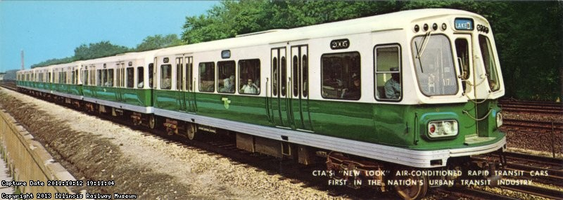 CTA 2000s In Original Mint Green and Alpine White Paint Scheme