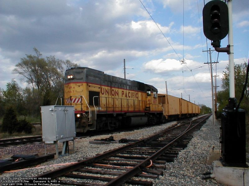Bye Bye ballast cars for good!  April 2005