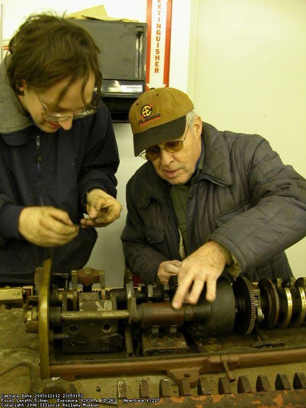 2003 - Rich Schauer, Bob Heinlein