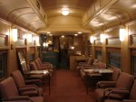 Highlight for Album: ATSF 1534 Lounge-Crew dorm Pullman1917