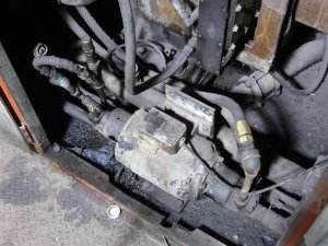 Engine Fuel Pump and Governor Oil Pump