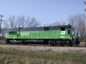 Highlight for Album: Burlington Northern 5383