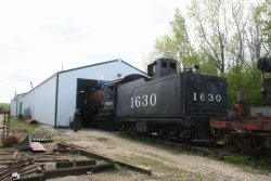 1630 is moved out of the shop April 2012