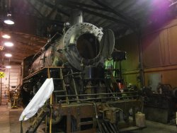 Smokebox bare and ready for work