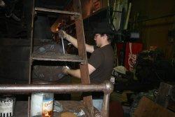 Brian refitting valve cylinder ends