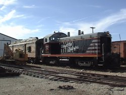 X-5000 was pulled out to the mainline 9/14/13