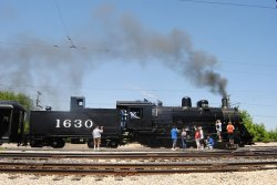 Frisco 1630 was the main attraction of Memorial Day Weekend at IRM - Photo by Shelly Vanderschaegen
